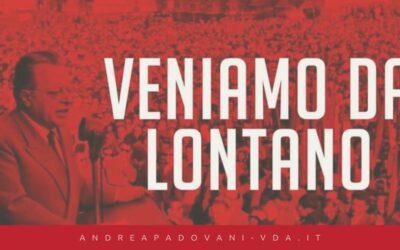 CENTO ANNI DA QUEL 21-01-1921